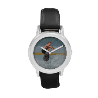Wakeboarder salvaje relojes de mano