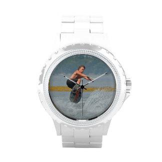 Wakeboarder salvaje reloj de mano