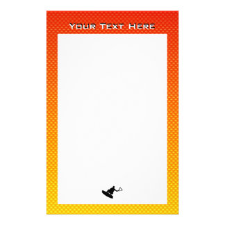 Wakeboarder Personalized Stationery