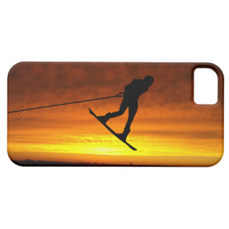 Wakeboarder Sunset iPhone Case