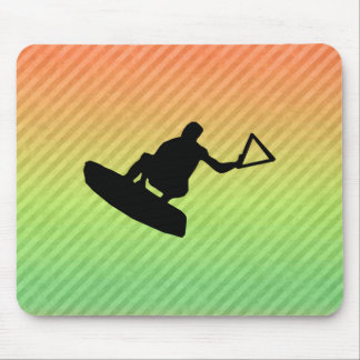 Wakeboarder Mouse Pads