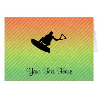 Wakeboarder Felicitacion