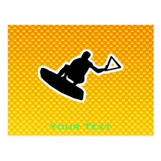 Wakeboarder Tarjetas Postales