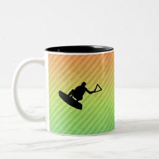 Wakeboarder Tazas De Café