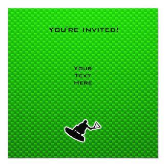 Wakeboarder verde comunicado