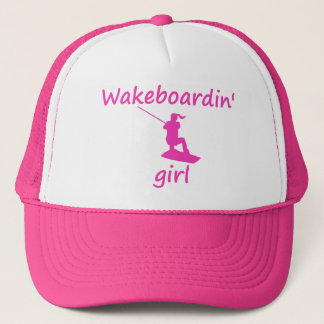 Wakeboardin' Girl Hat