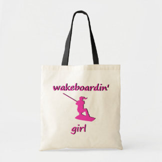 Wakeboardin' Girl Tote Budget Tote Bag