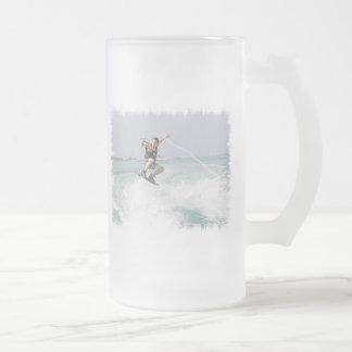 Wakeboarding Beer Mug
