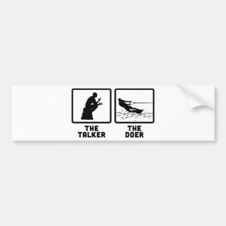 Wakeboarding Bumper Sticker