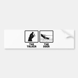 Wakeboarding Bumper Sticker