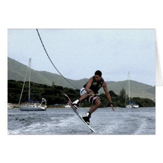 Wakeboarding Card