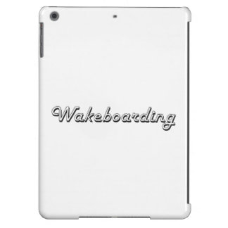 Wakeboarding Classic Retro Design Cover For iPad Air