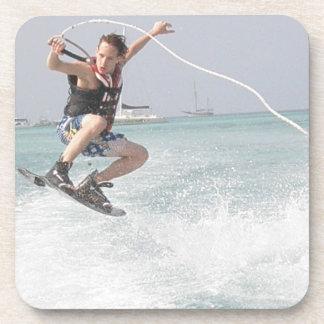 Wakeboarding Cork Coasters