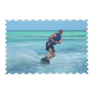 Wakeboarding en las zonas tropicales salvamanteles