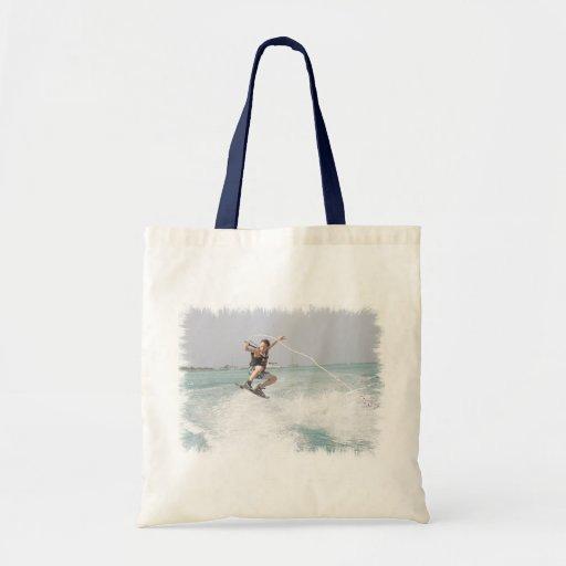 Wakeboarding Environmental Tote Bag