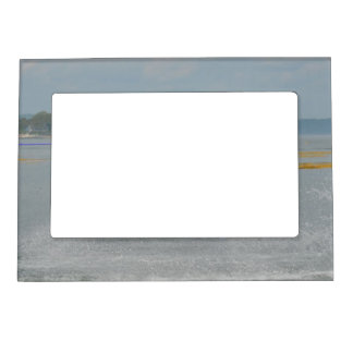 Wakeboarding Fun Picture Frame Magnet