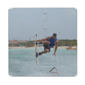 Wakeboarding Grab Puzzle Coaster