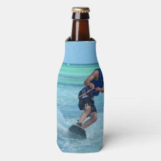 Wakeboarding in the Tropics Bottle Cooler