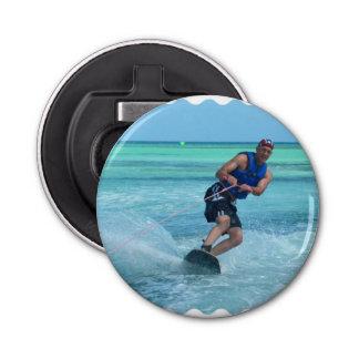 Wakeboarding in the Tropics Bottle Opener