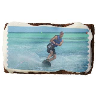 Wakeboarding in the Tropics Brownie