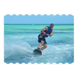 Wakeboarding in the Tropics Card