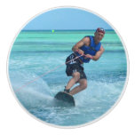 Wakeboarding in the Tropics Ceramic Knob