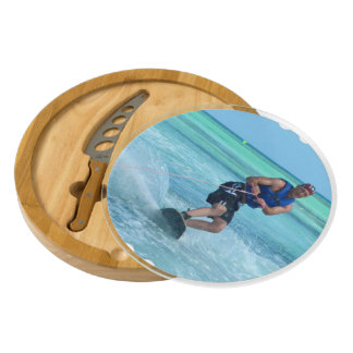 Wakeboarding in the Tropics Cheese Board
