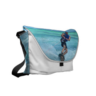 Wakeboarding in the Tropics Courier Bag