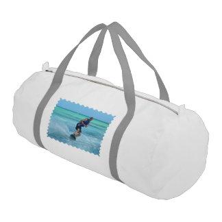 Wakeboarding in the Tropics Duffle Bag