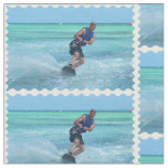 Wakeboarding in the Tropics Fabric