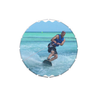 Wakeboarding in the Tropics Jelly Belly Candy Tins