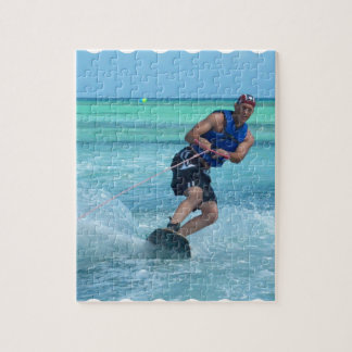 Wakeboarding in the Tropics Jigsaw Puzzle