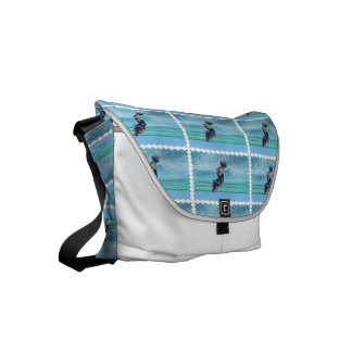 Wakeboarding in the Tropics Small Messenger Bag