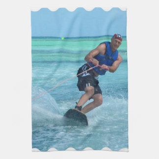 Wakeboarding in the Tropics Towel