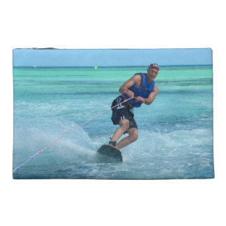 Wakeboarding in the Tropics Travel Accessory Bag