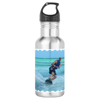 Wakeboarding in the Tropics Water Bottle