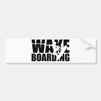 Wakeboarding Pegatina Para Auto