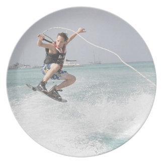 Wakeboarding Plate