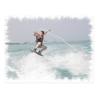 Wakeboarding Postcard