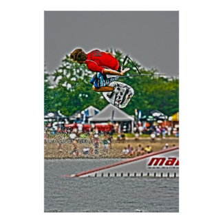 Wakeboarding Poster-Jump