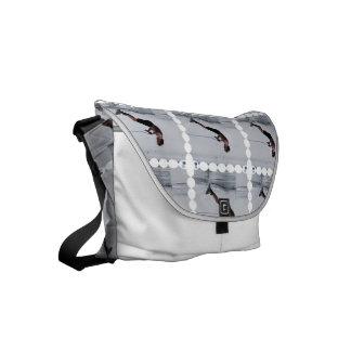 Wakeboarding Small Messenger Bag