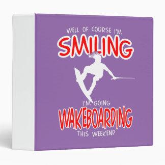 """WAKEBOARDING SONRIENTES Weekend 1 BLANCO Carpeta 1 1/2"""""""