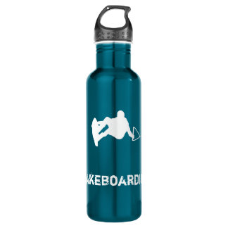 Wakeboarding Stainless Steel Water Bottle