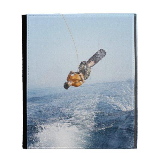 Wakeboarding Stunt iPad Case