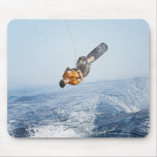 Wakeboarding Stunt Mouse Pad