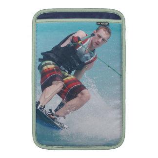 Wakeboarding Tail Grab MacBook Air Sleeves