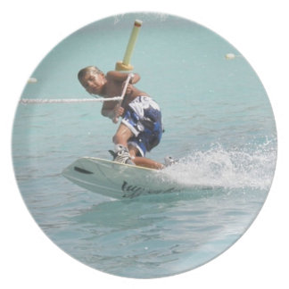 Wakeboarding Trio Plate