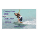 Wakeboarding Turn Business Card
