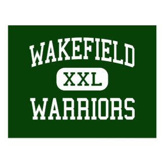 Wakefield - guerreros - alto - Arlington Virginia Tarjeta Postal