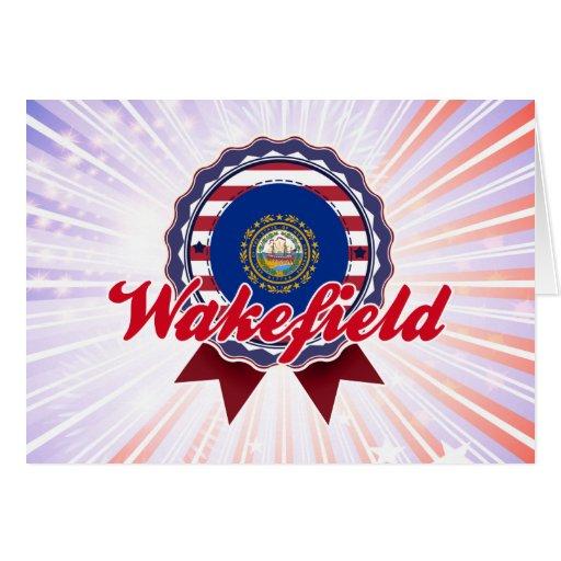 Wakefield, NH Tarjeta De Felicitación